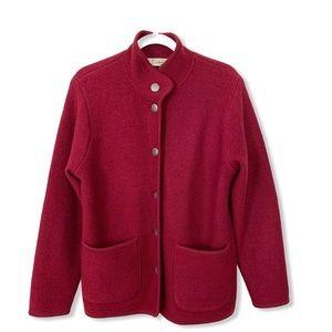 L L Bean Women's Wool Jacket